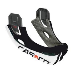 CASCO VIPER MX kin-beschermer wit-zwart-rood