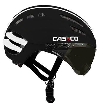 CASCO SPEEDairo zwart met vizier