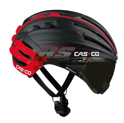 CASCO SPEEDairo RS rood met vizier