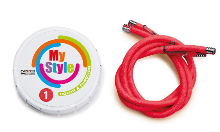 CASCO MyStyle biezen fel rood