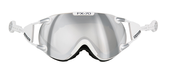 CASCO FX-70 Carbonic wit-zilver