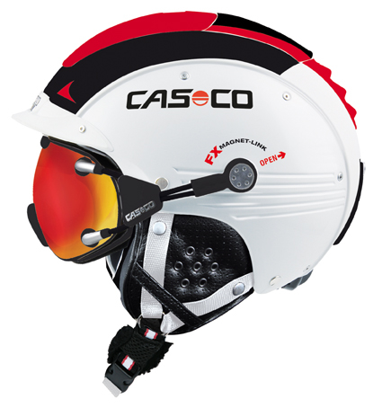 CASCO SP-5 wit-rood glans