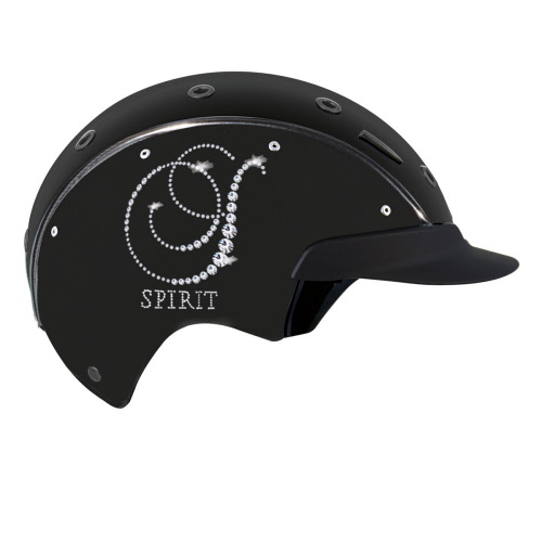 CASCO SPIRIT-6 CRYSTAL zwart