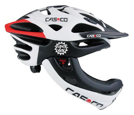 CASCO VIPER MX wit-rood-zwart