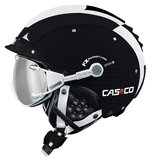Casco SP-5 skihelm zwart-wit