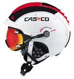 Casco SP-5 skihelm wit-rood