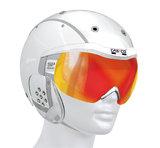 Casco SP-6 wit skihelm met vizier