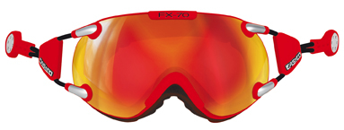 CASCO FX-70 Carbonic rood-oranje