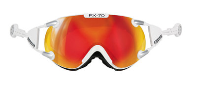 CASCO FX-70 Carbonic wit-oranje