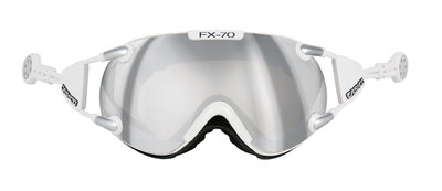 CASCO FX-70 Carbonic chroom-zilver