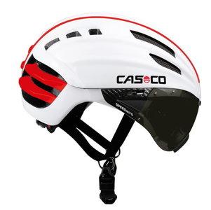 Casco SPEEDairo wit fietshelm met vizier