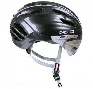 Casco SPEEDster-TC Plus gunmetal fietshelm met vizier