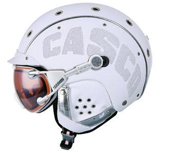 Casco SP-3 Limited Crystal wit skihelm