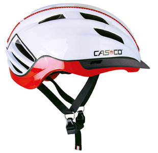 Casco SPEEDster-TC fietshelm wit rood